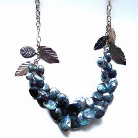necklace-silver labradolite